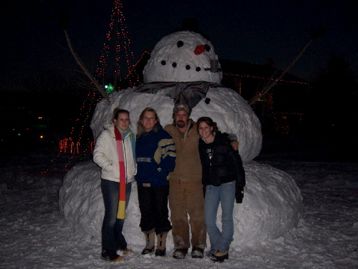 12 Foot Snow Man